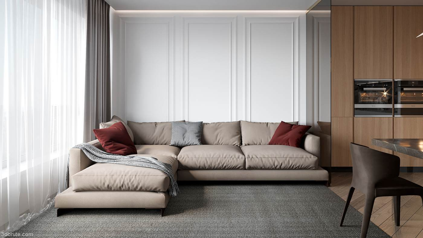 90 Square Meters Design Download 3d Models Free 3dbrute