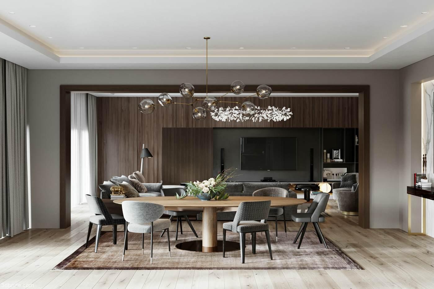 Maxim Tsiabus - Two modern warm little luxury home designs ...