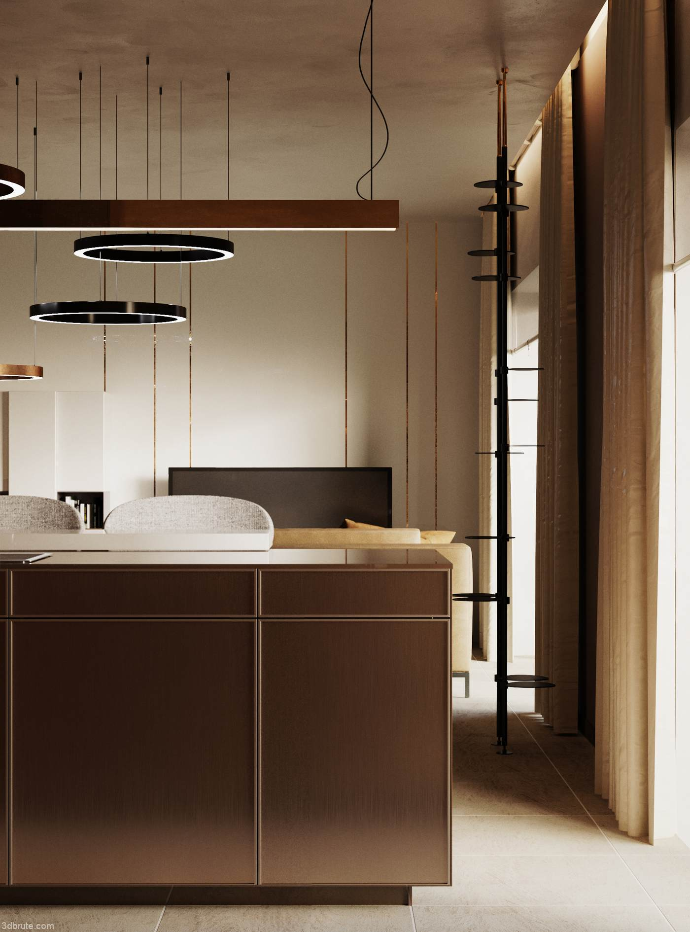 Project of apartments in Milan Milan interior design show ...